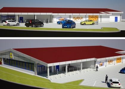 Concept Rebranding Supermarket - LIDL